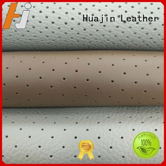 HUAJIN imitation synthetic leather material OEM ODM for sale