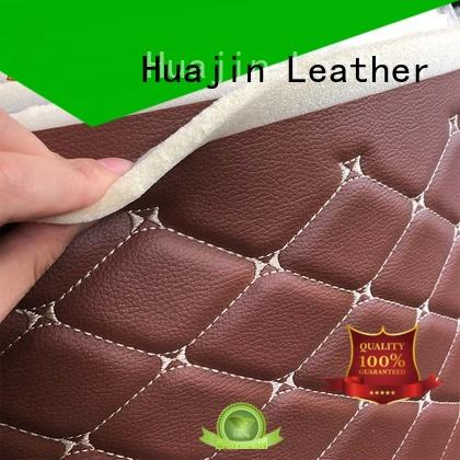 leather like material artificial for car seat HUAJIN
