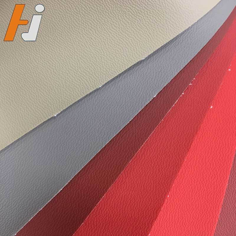 PVC synthetic vinyl car seat leather HJC002