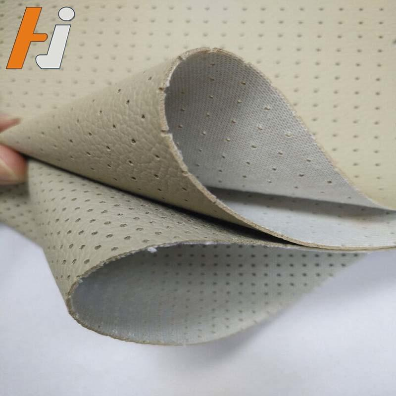 perforated pvc leather for car seat HJC006