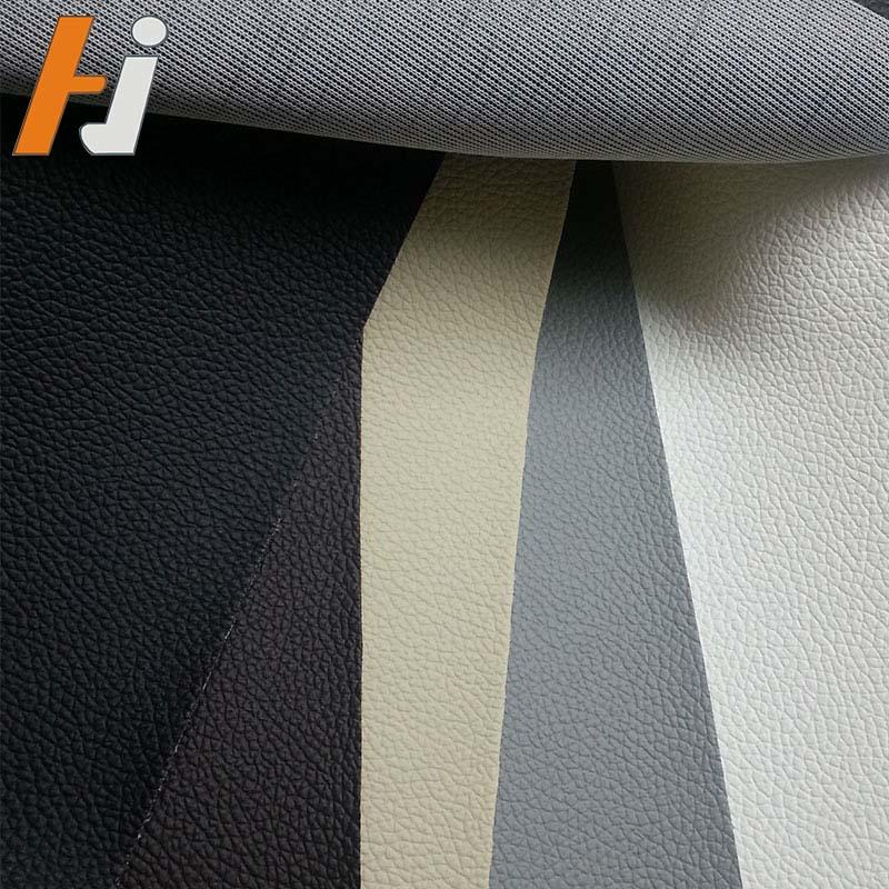 Hot sell competitive price pvc leather for furniture 0.6mm F007
