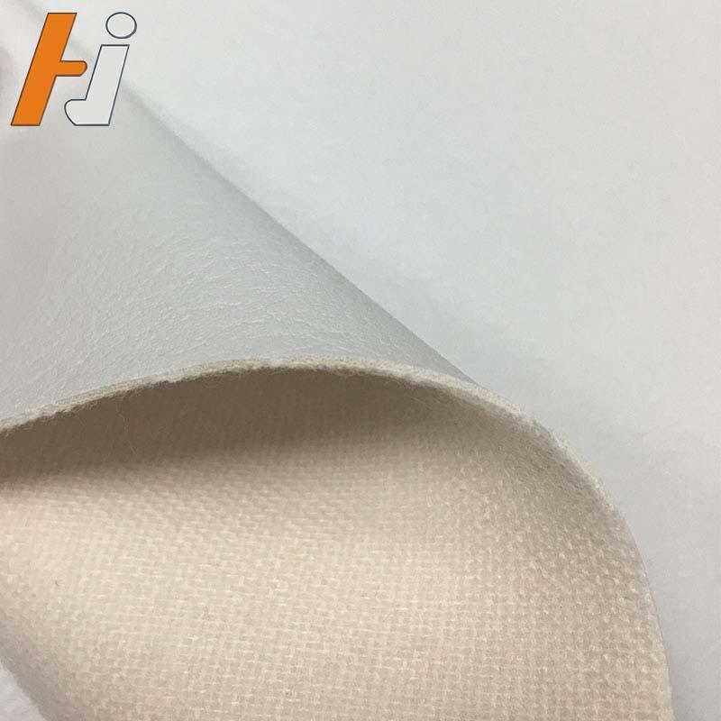 Soft hand feeling Semi PU leather for furniture high strength scratch F008