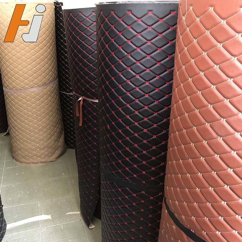 Leather Car Floor Mat Materials in Roll