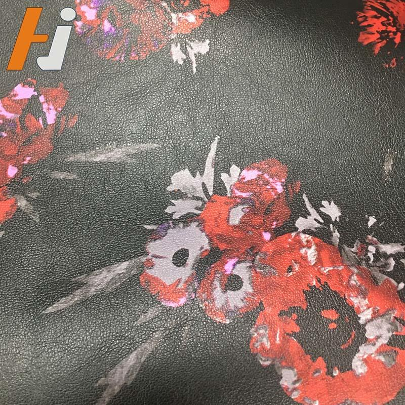 G004 Customized garment leather, PU printed leather,special garment leather