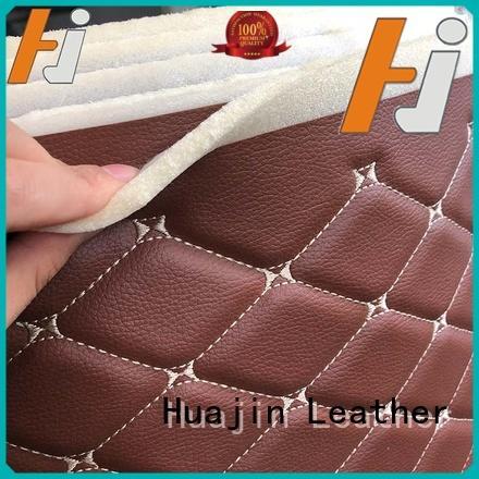 fabric pu fake leather leather for furniture HUAJIN