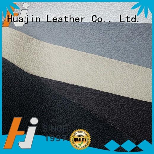 resistant leather material for chairs factory for automotive car HUAJIN