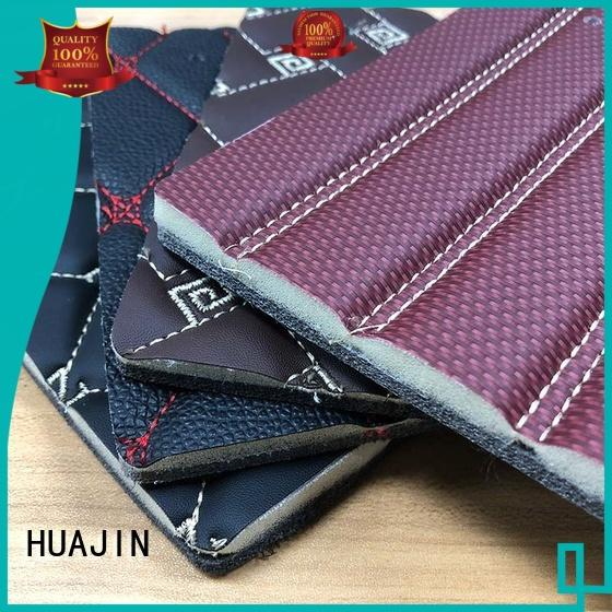 roll pu synthetic leather materials for car seat HUAJIN