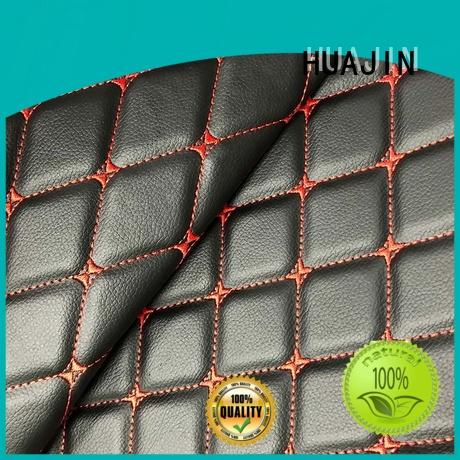 faux leather roll mat for car seat HUAJIN