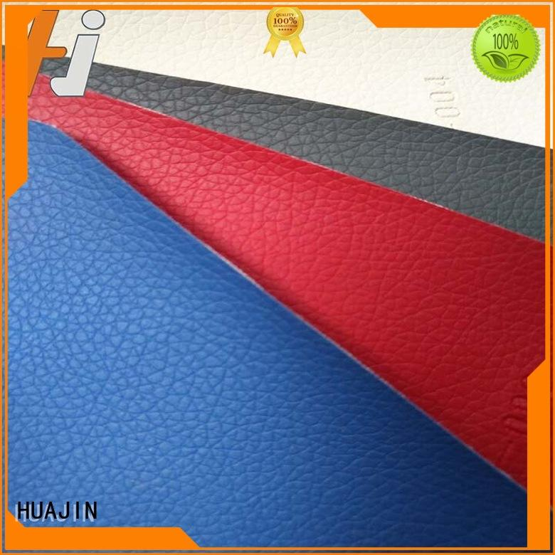 hjc005 fake leather synthetic for seat HUAJIN