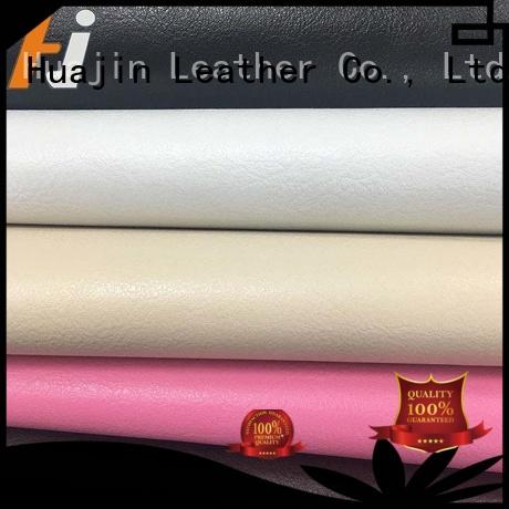 HUAJIN price leather for furniture factory for seats