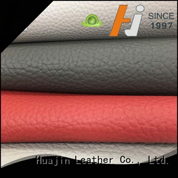 HUAJIN microfiber leather material for sofa highly for furniture