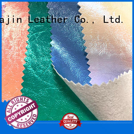 leather look fabric elastic for skirt clothing HUAJIN
