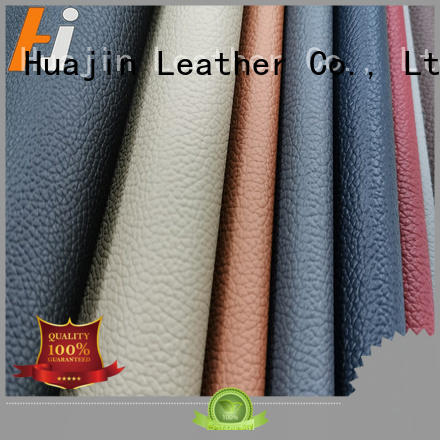 fake leather material pu for automotive car HUAJIN