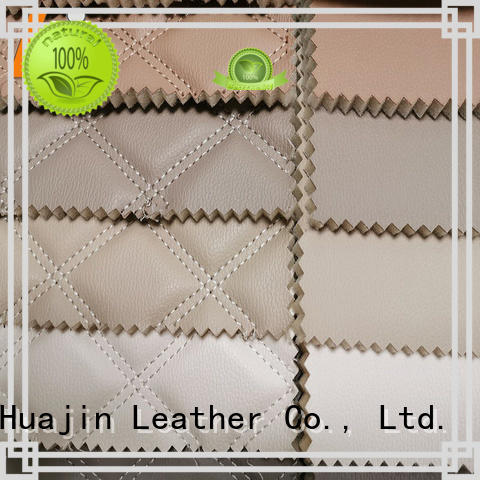 HUAJIN synthetic leather material solution expert for floor mat