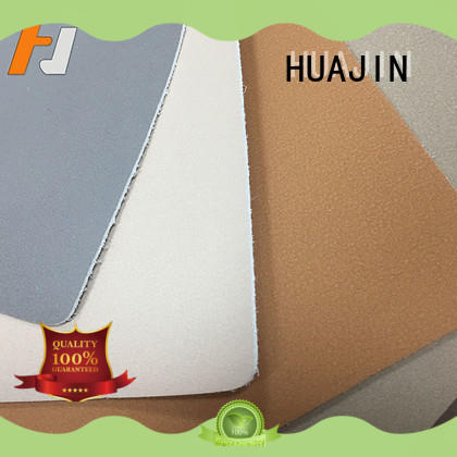 HUAJIN antifouling leather material for chairs f004 for automotive car